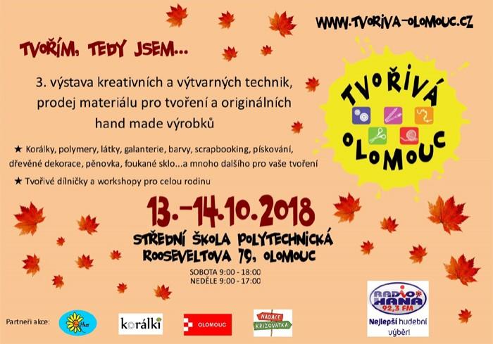 Tvořivá Olomouc - Tvořím, tedy jsem...
