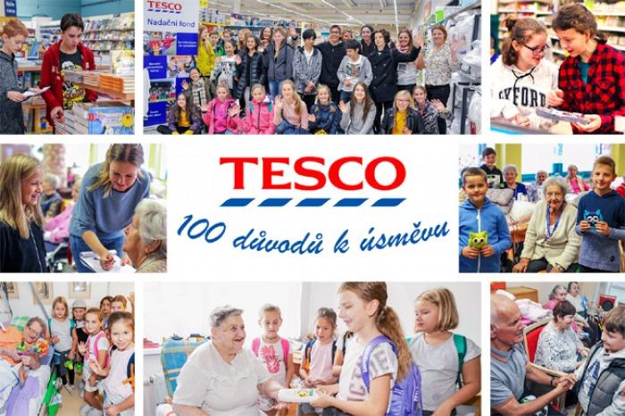Tesco oslavilo 100. výročí vzniku Československa projektem Sto důvodů k úsměvu