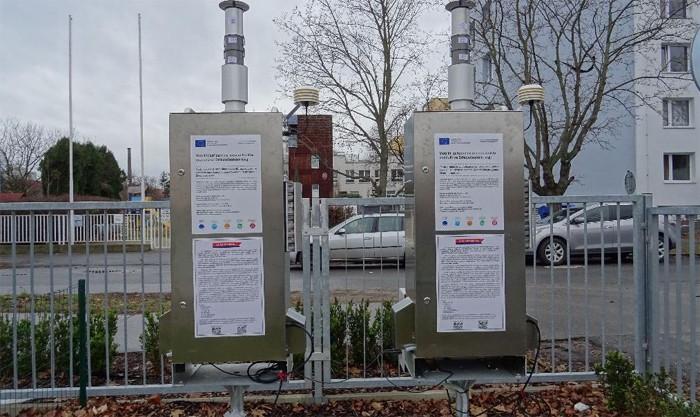Mobilní zařízení na měření kvality ovzduší ve Středočeském kraji
