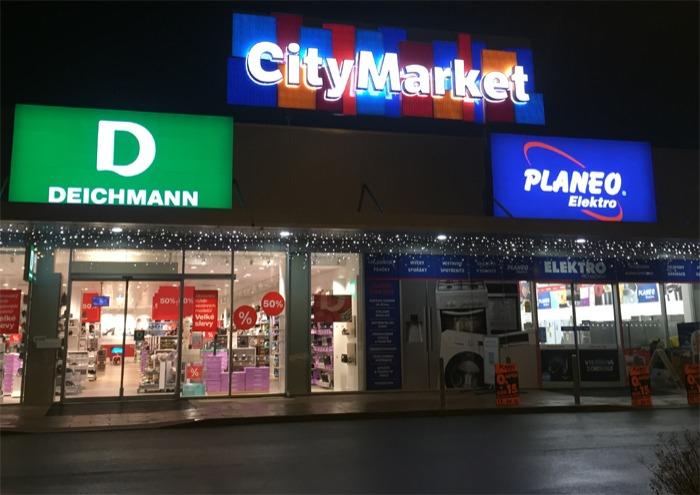 Retail Park v Brandýse nad Labem se mění na City Market