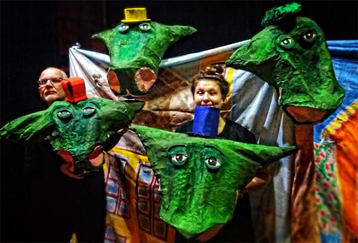 Čtyřhlavý drak Yvolrak bude celý rok děti učit třídit odpad