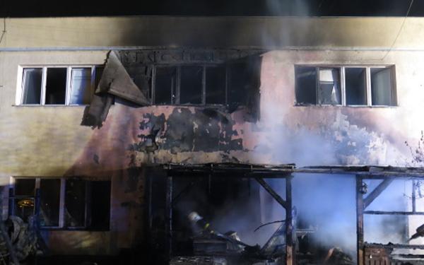 Požár opavské restaurace s předběžnou škodou 2 miliony korun