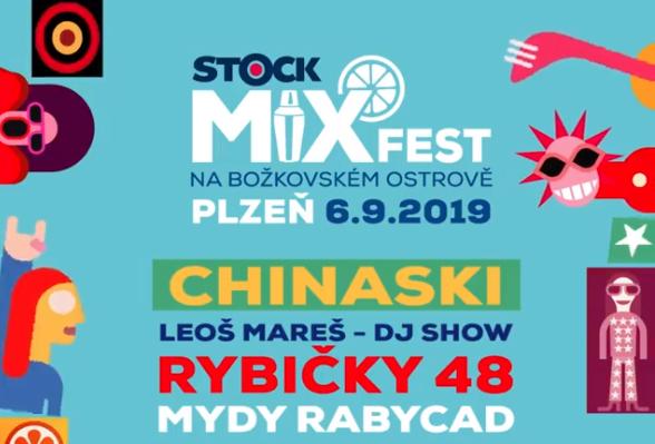 První ročník Stock Mixfestu v Plzni-Božkově slibuje drinkové rekordy i skvělou zábavu