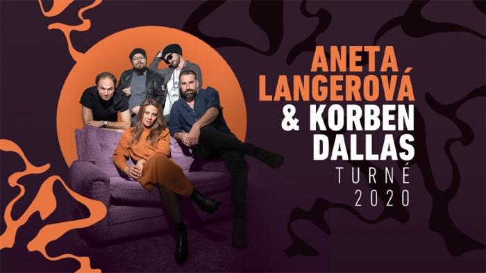 Slovenská kapela Korben Dallas a Aneta Langerová chystají společné klubové turné