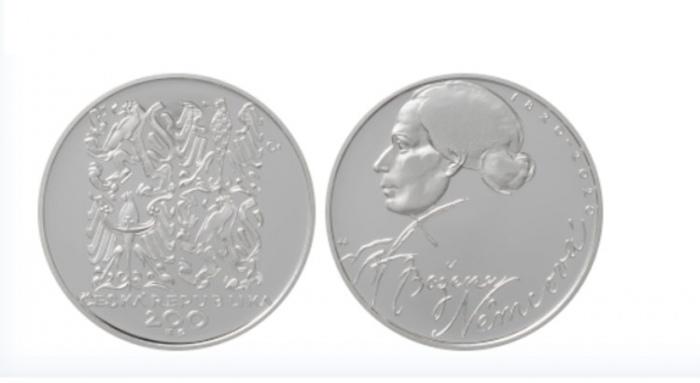 ČNB vydává stříbrnou minci k 200. výročí narození Boženy Němcové