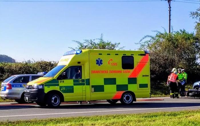 Pět zraněných při nehodě na Bruntálsku