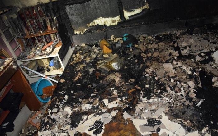 Příčinou požáru bytu v Pardubicích bylo kouření v posteli