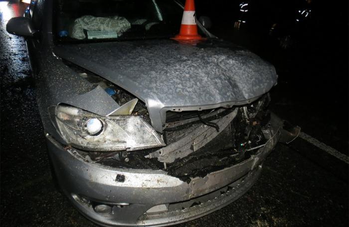Strom spadl na Jičínsku před projíždějící auto, řidič už nestihl zabránit srážce