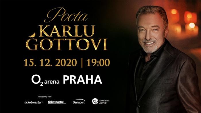 Největší hvězdy české a slovenské populární hudby se v prosinci sejdou na pódiu pražské O2 areny, aby vzdaly hold Karlu Gottovi