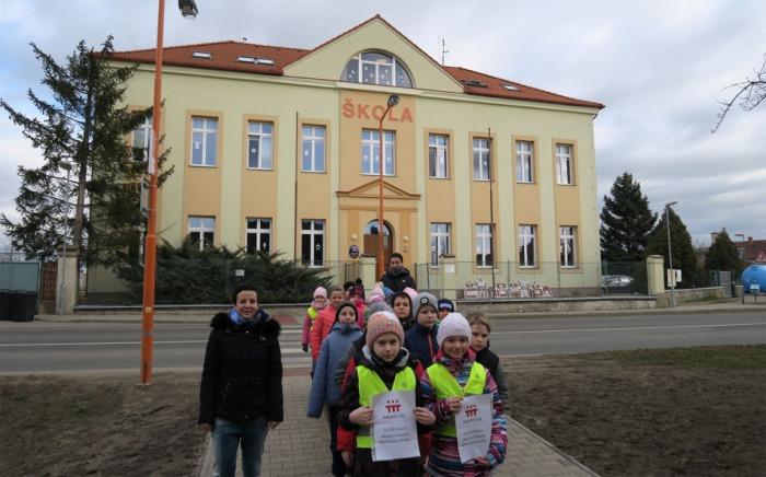 Letos první středočeský Oranžový přechod mají v Chlumíně  na Mělnicku