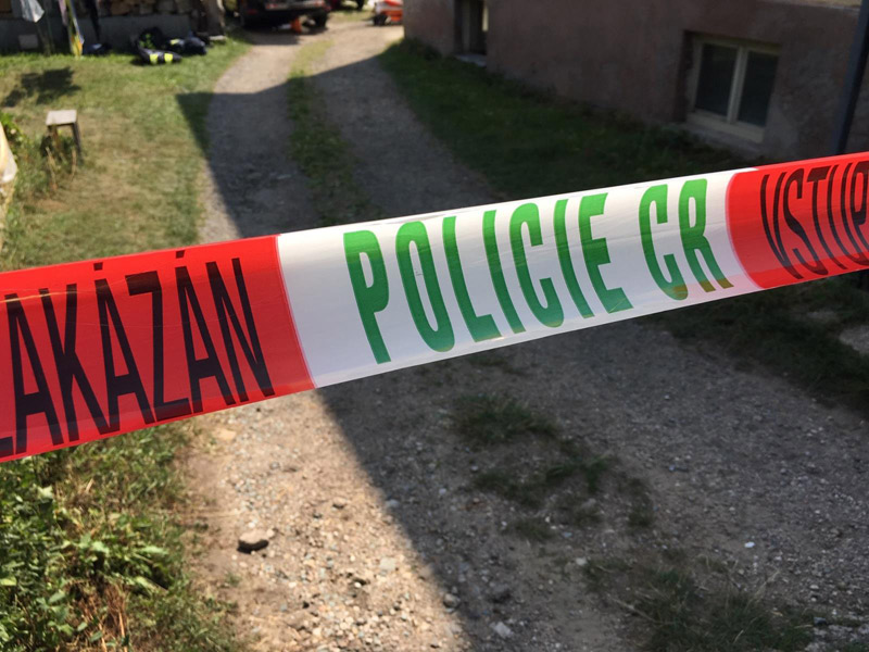 Muž na Táborsku zavraždil mladou ženu, byla nalezena v rodinném domě
