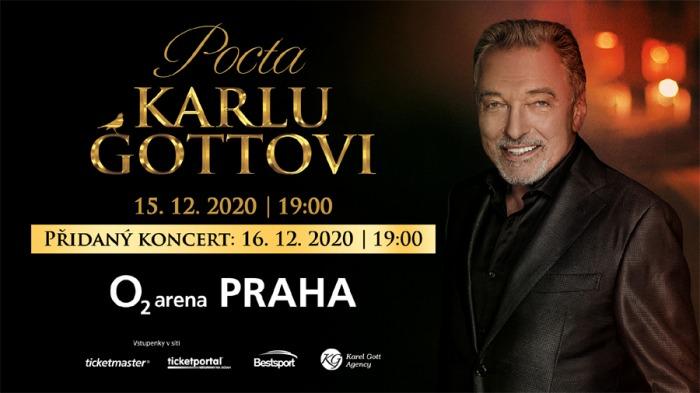 Pocta Karlu Gottovi dvakrát. Pro velký zájem se přidává druhý koncert  16. prosince