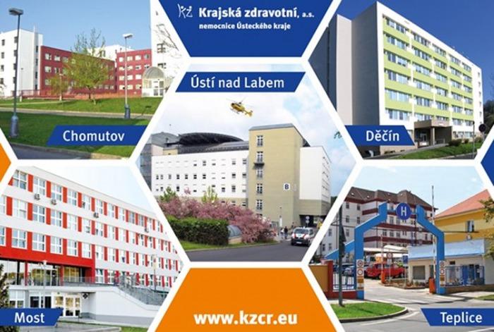 Krajská zdravotní v souvislosti s výskytem COVID-19 v ČR vydala zákaz návštěv na lůžkových stanicích rizikových oddělení v ústecké a mostecké nemocnici