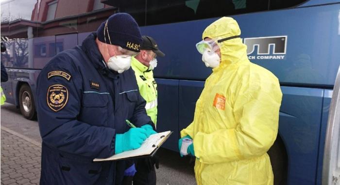 Od pondělí 9. března měří hasiči teplotu na vybraných hraničních přechodech