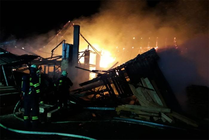 Požár stodoly na Berounsku způsobil škodu za dva miliony korun