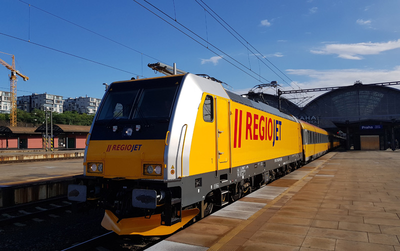 Omezení provozu mezinárodních spojů RegioJet
