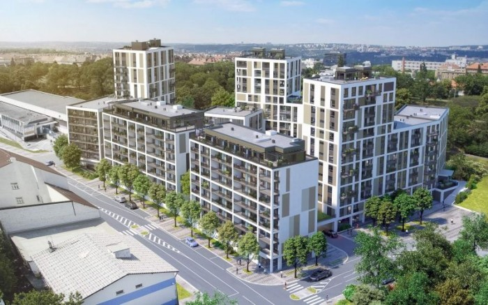 Byty Na Vackově - bydlení v komfortu velkoměsta