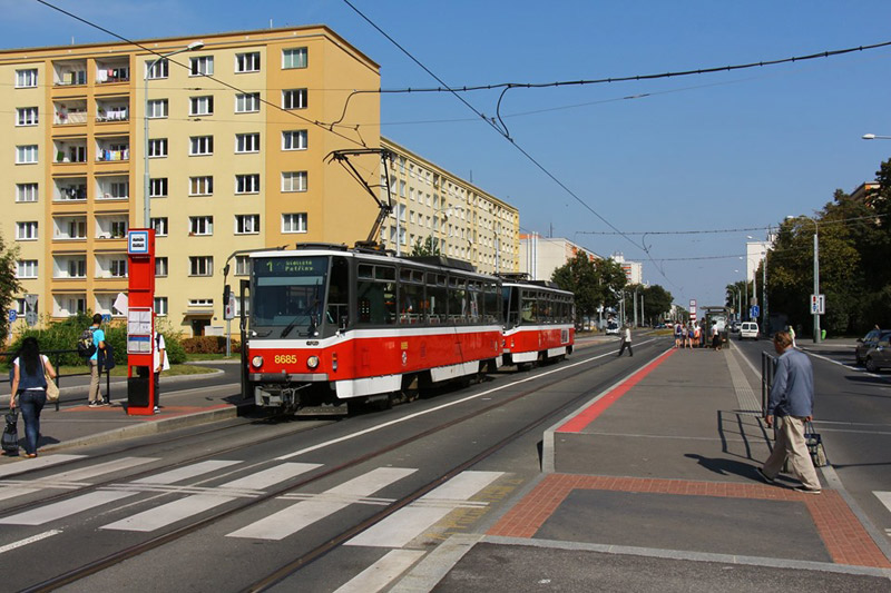 Pražský dopravní podnik zrekonstruuje další tramvajovou trať, tentokrát ve Starostrašnické ulici a V Olšinách