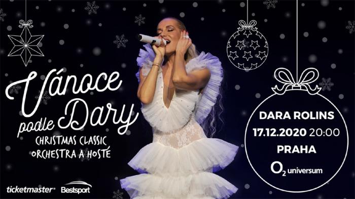 Po loňském mega úspěchu se vrací show Vánoce podle Dary, tentokrát do pražského O2 universa