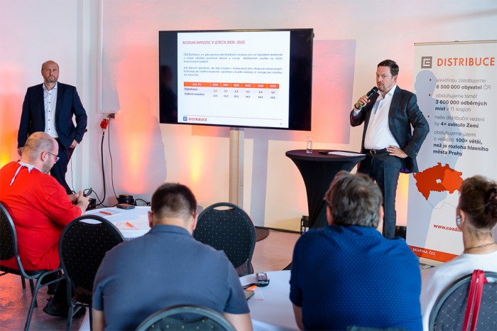 ČEZ Distribuce investuje do svých sítí do roku 2025 přes 83 miliard korun, z toho do digitalizace míří přes 23 miliard korun