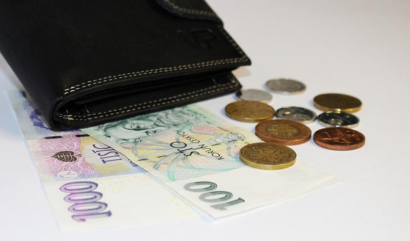 Pětina Čechů vnímá svou finanční situaci spíše tíživě a sotva vychází s penězi