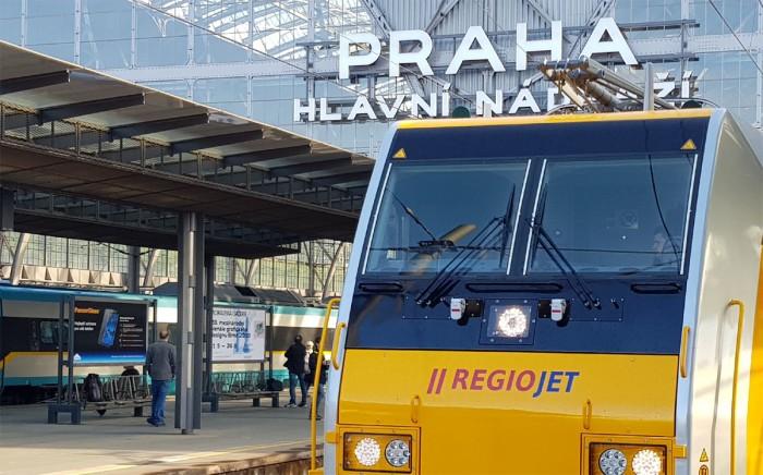 RegioJet navyšuje počty vlakových spojů do Chorvatska a Slovinska. Od 11. 7. budou spoje jezdit denně