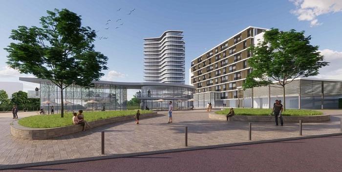 Nová městská čtvrť ve Zlíně: Byty, parky a propojení s řekou nabídne obyvatelům zajímavé možnosti