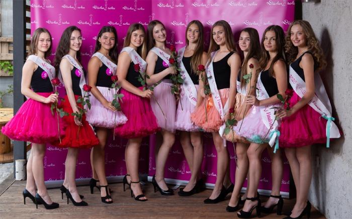 Tyto dívky budou soutěžit o titul Dívka roku 2020, vítězka získá korunku z recyklovaného skla