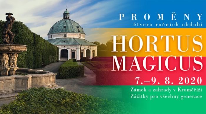 V Kroměříži se na začátku srpna koná unikátní festival barokní kultury Hortus Magicus 2020