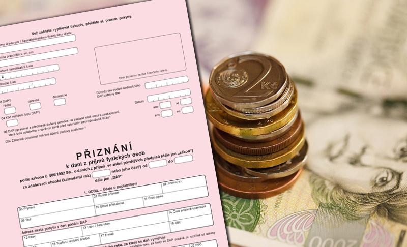 Na podání daňového přiznání zbývá poslední týden