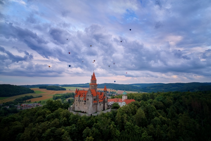 Střední Morava láká: S dětmi na výlet na hrad Bouzov, zámky Konice a Náměšť na Hané