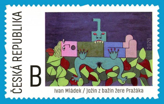 Jožin z bažin od od Ivana Mládka je námětem nové poštovní známky