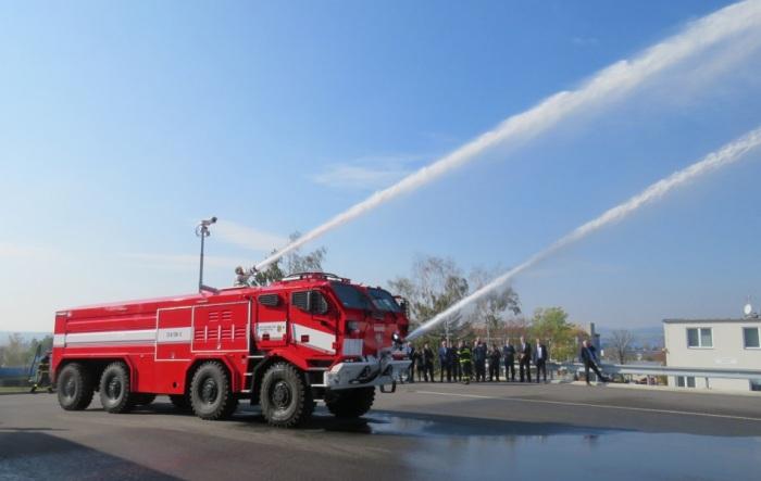 V Bílině na Teplicku hořel policejní sklad munice