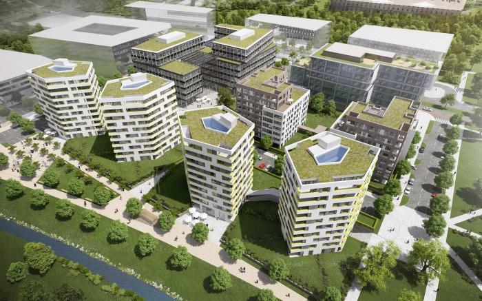 Rohan City: Luxusní komplex od Sekyra Group vzniká v pražském Karlíně