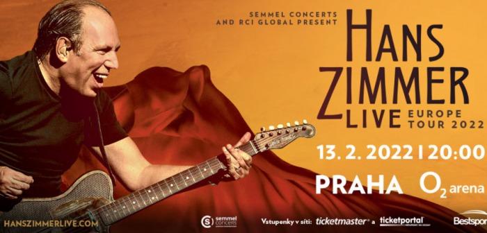 Světoznámý hudební skladatel Hans Zimmer přijede do pražské  O2 areny o rok později
