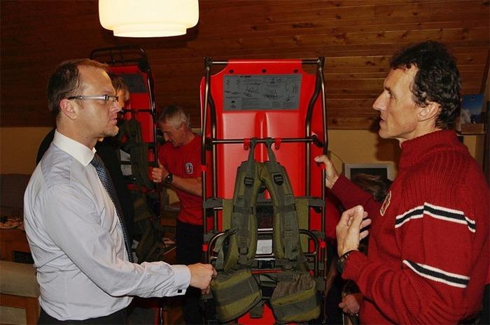 Nov� �ty�kolka pro horsk� z�chran��e na Doln� Morav�