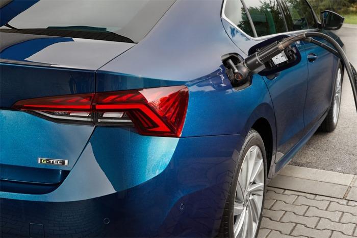 Na český trh vstupuje OCTAVIA G-TEC v karosářské verzi liftback a s manuální převodovkou