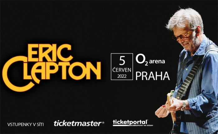 Eric Clapton oznamuje přesun koncertu v O2 areně na rok 2022