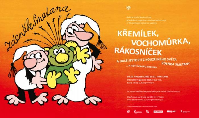 Interaktivní galerie Becherova vila připravila online prohlídku výstavy Zdeňka Smetany