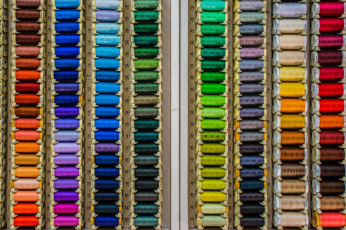 Pojďte se bavit tvořením. Dobrá textilní galanterie je už sama o sobě inspirující