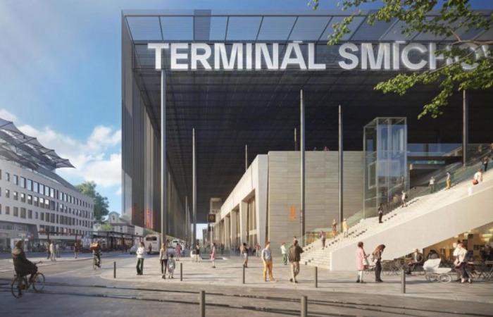 Praha pokračuje v přípravách výstavby Terminálu Smíchovské nádraží a zpřesňuje jeho podobu