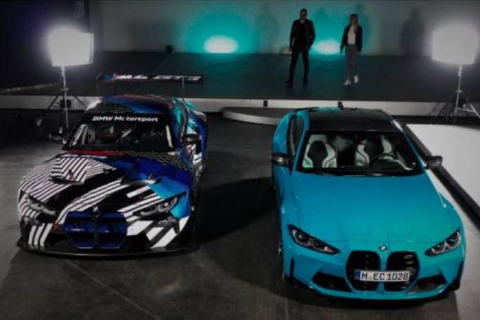 BMW M Design Talk: Setkání BMW M4 s BMW M4 GT3