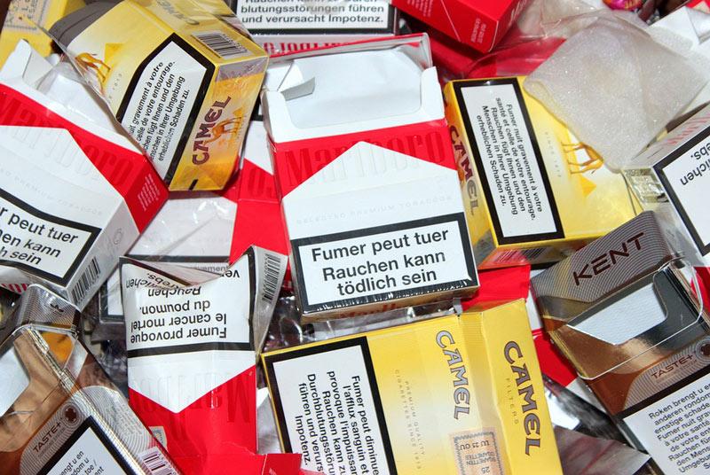 Na pražském letišti celníci zabavili 64 kg tabákových výrobků