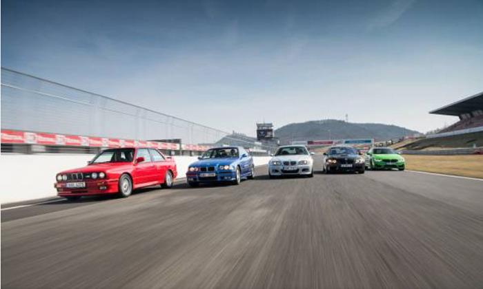 BMW M5 CS bude mít českou premiéru na akci M Day na okruhu v Mostě