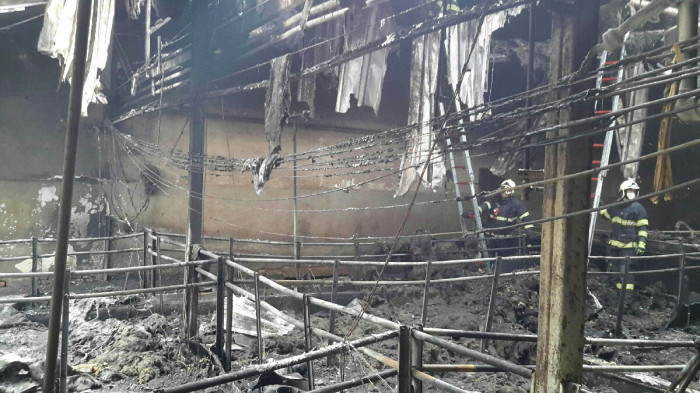 Vepřín v Ctidružicích zachvátil požár, škoda byla vyčíslena na dva miliony korun