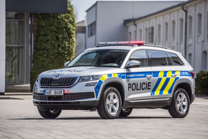 Škodovka vyhrála tendr na přestavbu 500 vozů KODIAQ pro potřeby Policie ČR