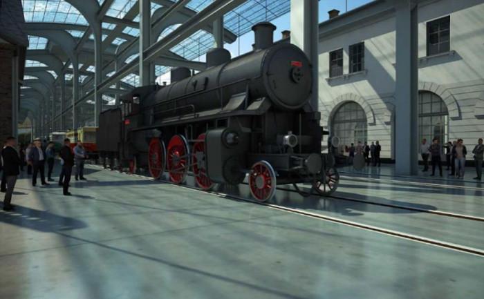 Národní technické muzeum získalo darem od společnosti ČEPRO exponát akumulátorové lokomotivy Ringhoffer č.2 z roku 1916