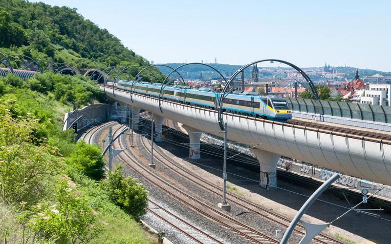 Nové železniční spojení Drážďany - Praha je projekt celoevropského významu