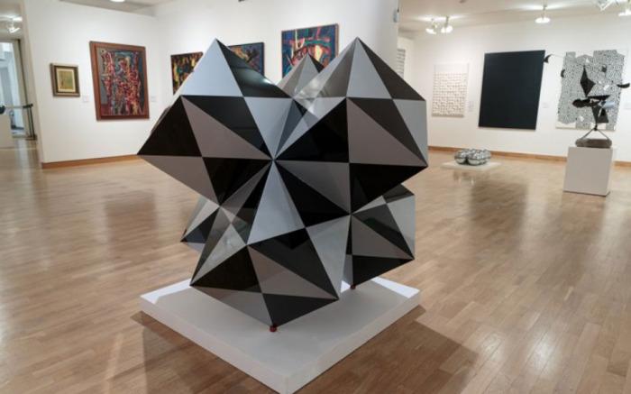 Muzeum umění Olomouc získalo Diamant, výraznou plastiku Victora Vasarelyho