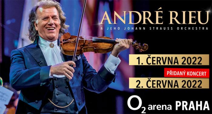 André Rieu díky velkému zájmu přidává druhý koncert vpražské O2 areně